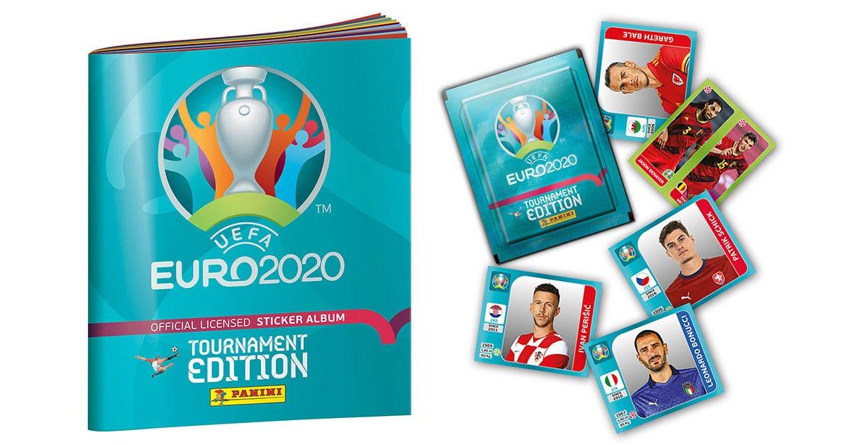 UEFA EURO 2020™ Officiële stickercollectie Toernooi-editie