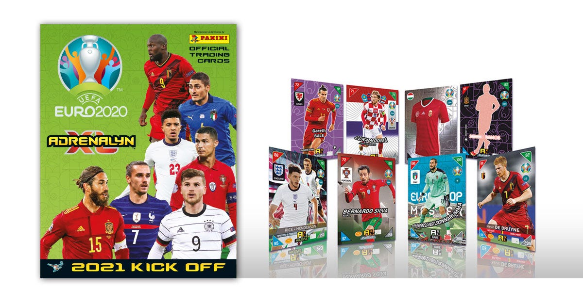 The UEFA Euro 2020™ Adrenalyn XL 2021 Kick Off Official Trading Cards Collection