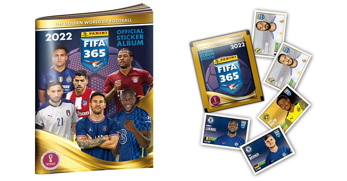 PANINI FIFA 365 2022 OFFICIAL STICKER COLLECTION