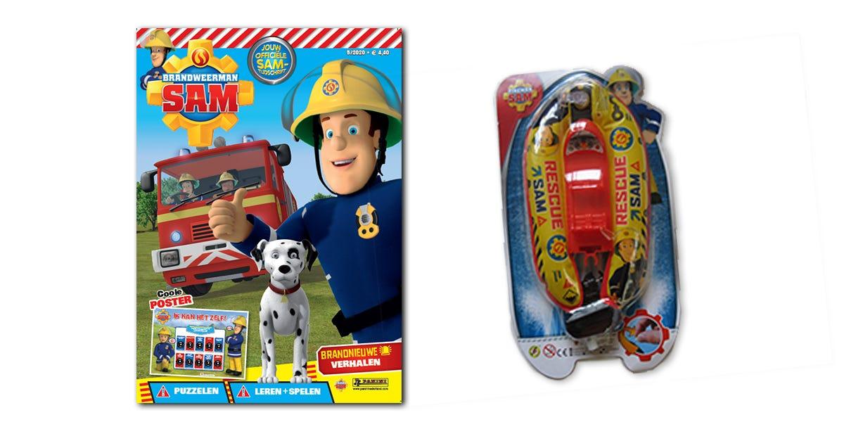 Brandweerman Sam 05/2020 | Panini