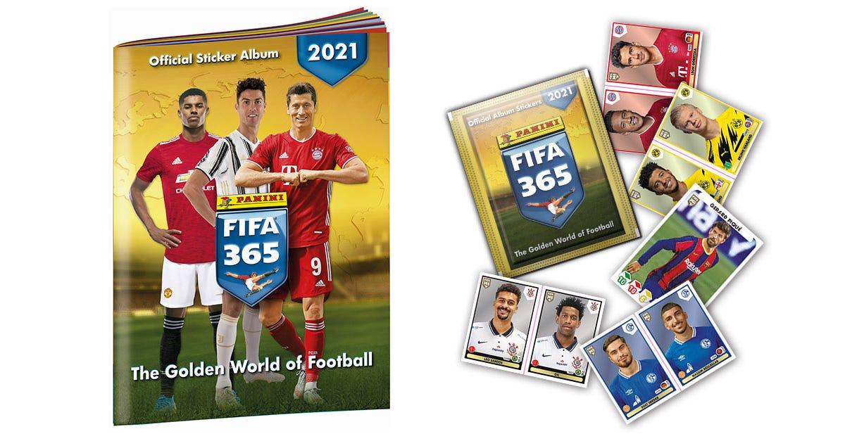 Panini FIFA 365™ 2021 stickercollectie