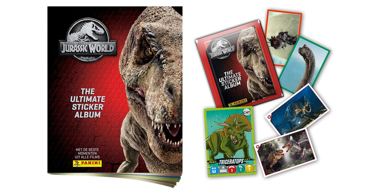 JURASSIC WORLD – THE ULTIMATE STICKER ALBUM