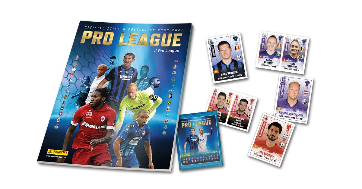 PANINI official sticker collection PRO LEAGUE 2021