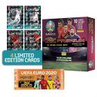 De UEFA Euro 2020™ Adrenalyn XL™ 2021 Kick Off officiële ruilkaartencollectie PREMIUM BUNDEL