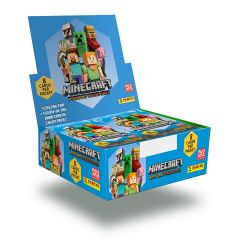 MINECRAFT TC ™ Boite de 18 pochettes de cartes