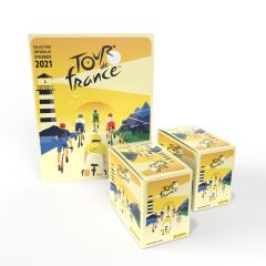 Collection officielle de stickers TOUR DE FRANCE™ 2021 - Pack de 72 pochettes + 1 album GRATUIT