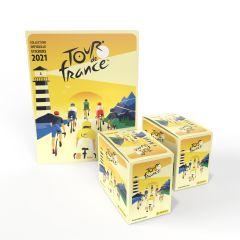 De officiële TOUR DE FRANCE™ 2021 Stickercollectie - Pakket van 72 stickerzakjes + GRATIS stickeralbum
