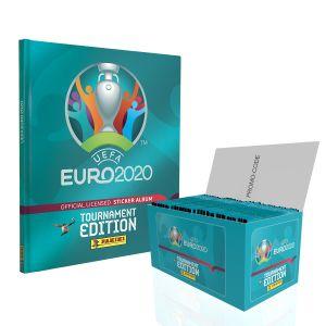 De UEFA EURO 2020™ Toernooi-editie officiële stickercollectie - Verzamelaarspakket
