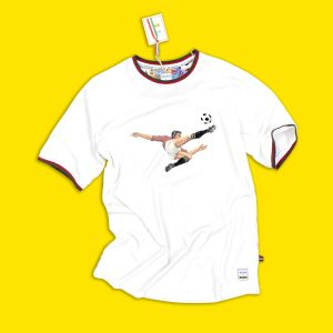 Panini T-shirt met logo omhaal