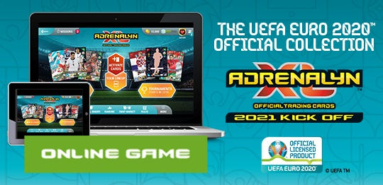 The UEFA EURO 2020™ OFFICIAL COLLECTION ONLINE GAME